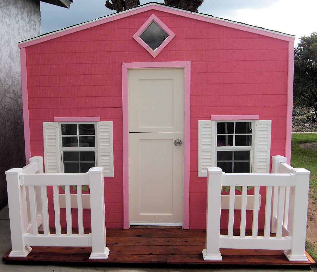 Outdoor Playhouses Childrens Playhouses Wooden Playhouse
